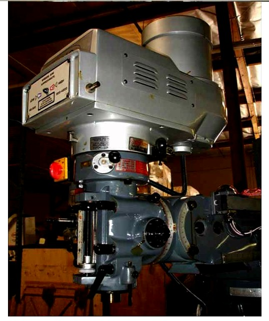 Machinery Values Inc 54 Table 3hp Spindle Gmc Gmm
