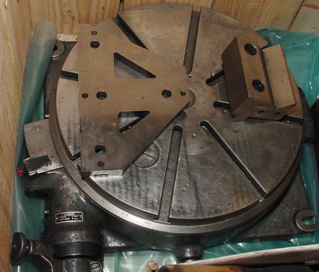 Jig Bore Rotary Table : Machinery values inc  axis y sip mp f