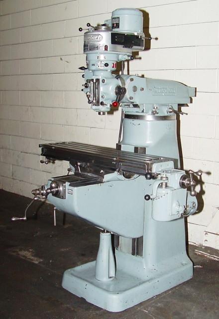 Mills-Vertical-Bridgeport Type - Vander Ziel Machinery Sales