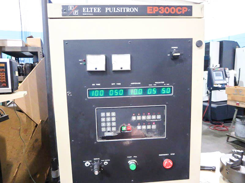 Machinery Values Inc Eltee Trm 21 Ram Type Edm