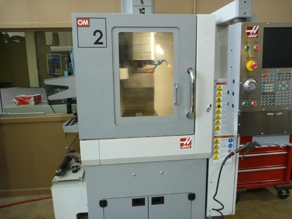"12"" X 10"" Y Haas OM 2A VERTICAL MACHINING CENTER, Haas CNC ..."