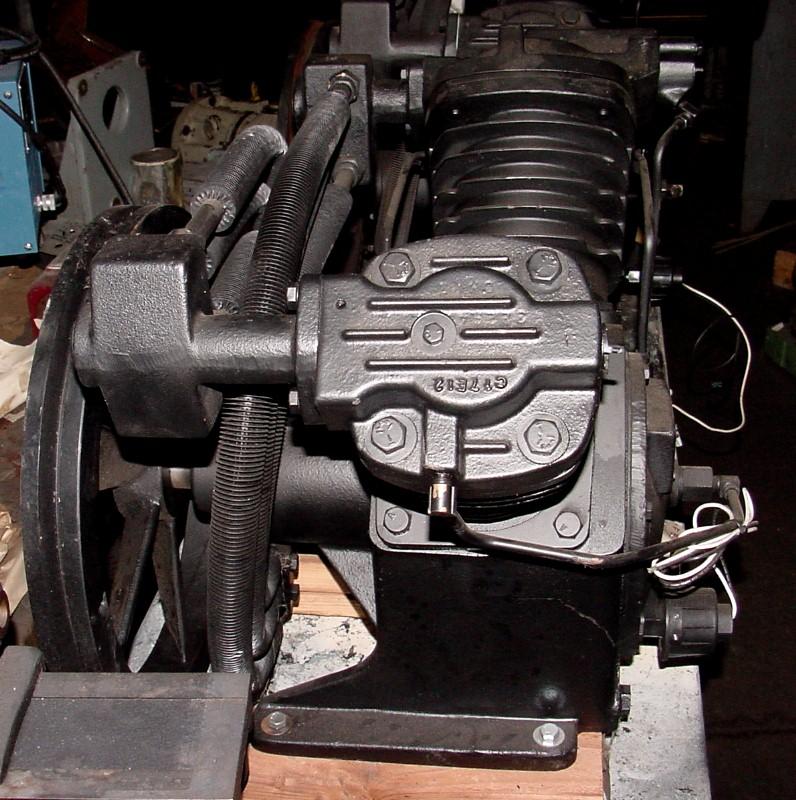Machinery Values Inc 10hp Motor Ingersoll Rand 2545 2