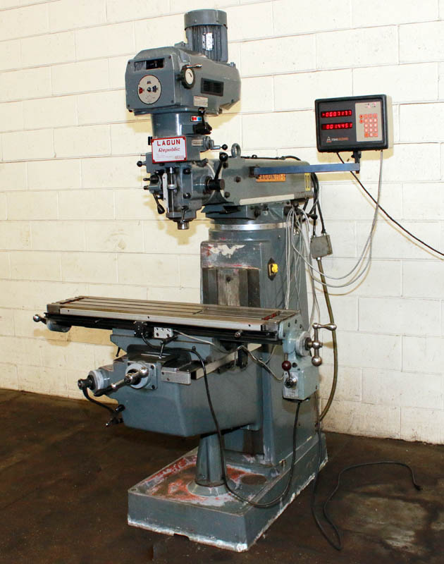 Machinery Values Inc 42 Table 3hp Spindle Lagun Ftv