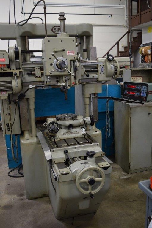 Jig Bore Rotary Table : Machinery values inc sip mp k jig borer rotary table