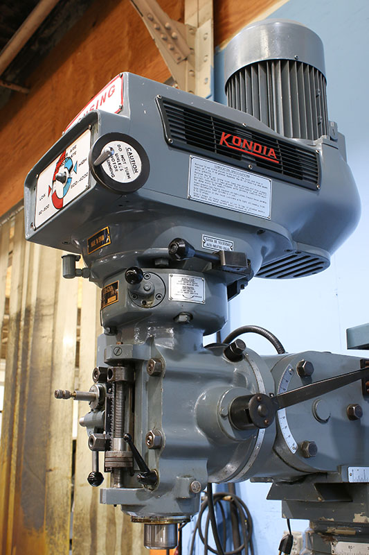 Machinery Values, Inc  - 48'' Table 3HP Spindle Clausing