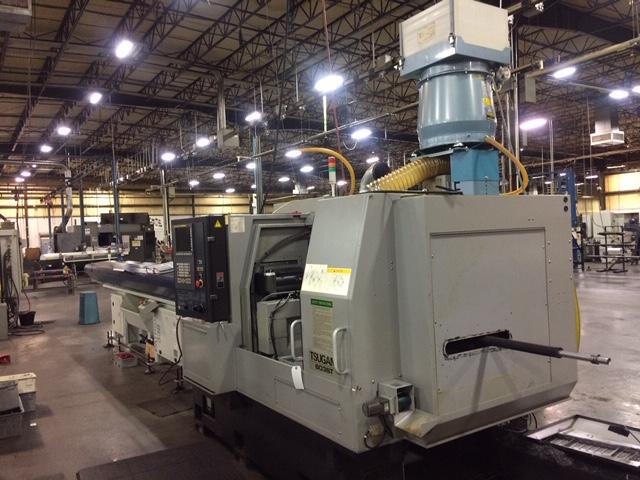 Machinery Values, Inc  - 1 5'' Dia  Tsugami B038T CNC SWISS