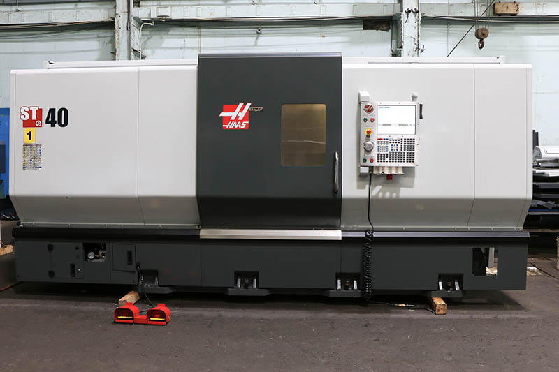 Machinery Values, Inc. - 34.5'' Swing 44'' Centers Haas ST ... on